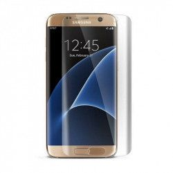 Folie sticla securizata curbata Samsung Galaxy S7 Edge transparent Folii Protectie