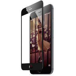 Folie sticla securizata tempered glass iPhone 8 Full 3D - Black