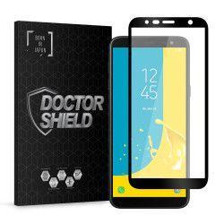 Folie Sticla Dr.Shield Samsung Galaxy J6 Plus 2018 Protectie Ecran 3D Full Cover- Negru