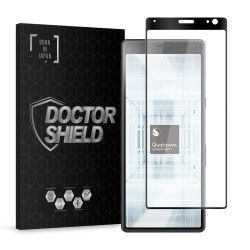 Folie Sticla Dr.Shield Sony Xperia 10 Plus Protectie Ecran 3D Full Cover- Negru