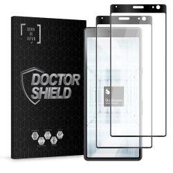 Folie Sticla Dr.Shield Sony Xperia 10 Plus Set 2 Bucati Protectie Profesioanala Ecran 3D Full Cover- Negru