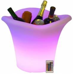 Frapiera LED RGBW 16 culori control telecomanda IP68 acumulator 32cm Accesorii bucatarie
