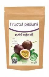 Fructul Pasiunii Maracuja Pulbere Raw Obio 125gr