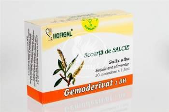 Gemoderivat Scoarta Salcie Hofigal 30mdz