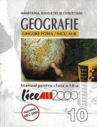 Geografie. Manual pentru clasa a X-a Carti