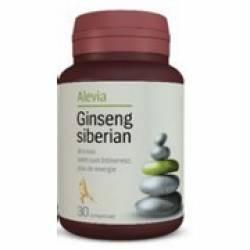 Ginseng Siberian Alevia 30cpr