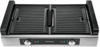 Grill electric Heinner SmokelessPro HSEG-1800SS 1.800 W Negru Inox