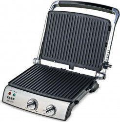 Grill electric Zass Grill & Panini Chef ZPG 02 2000 W Placi detasabile Inox Gratare electrice
