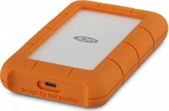HDD Extern LaCie 1TB Rugged 2.5inch USB 3.0 Portocaliu