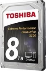 HDD Intern Toshiba X300 8TB 3.5inch 128mb