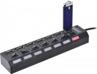 Hub 7 porturi USB produs original marca Ashop Accesorii Diverse