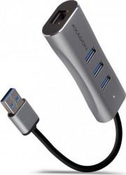 Hub USB Axagon HMA-GL3AP 3x USB Gri