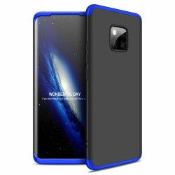 Husa 360 Grade Upzz Protection Huawei Mate 20 Pro Negru-albastru Huse Telefoane