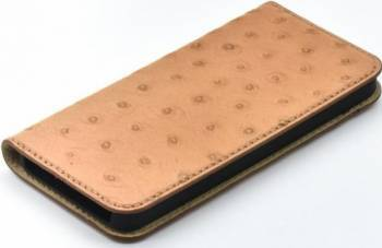 Husa Book Tellur iPhone 5 5S SE Piele Maro Huse Telefoane