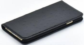 Husa Book Tellur iPhone 6 6S Piele Negru