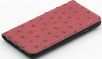 Husa Book Tellur iPhone 7 Piele Rosu