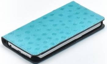 Husa Book Tellur Samsung Galaxy S6 Edge Piele Turcoaz