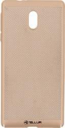Husa Cover Tellur Heat Dissipation Nokia 3 Gold