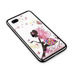 Husa din sticla securizata pentru Apple iPhone 8 Plus Fairy 101
