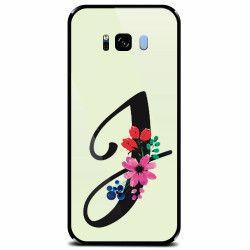 Husa din sticla securizata pentru Samsung Galaxy S8 Plus Litera J