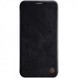 Husa Flip Cover Book Premium Nillkin Qin iPhone 11 Pro Negru Huse Telefoane