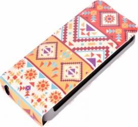 Husa flip Tellur pentru iPhone 5-5S Mosaic Huse Telefoane