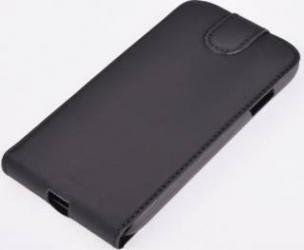 Husa flip Tellur pentru Samsung Galaxy A5 A500 2015 SETA Neagra