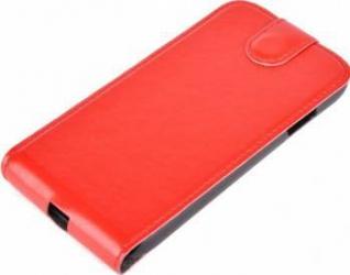 Husa flip Tellur pentru Samsung Galaxy S4 i9500 Rosie