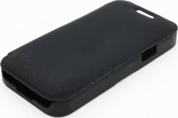 Husa Folio Tellur Samsung Galaxy S4 Mini I9190 SETA neagra