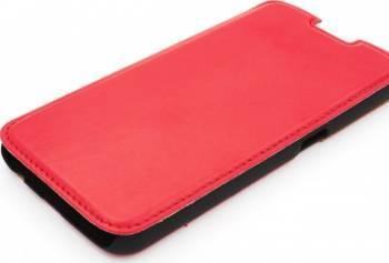 Husa Folio Tellur Samsung Galaxy S6 G920 rosie