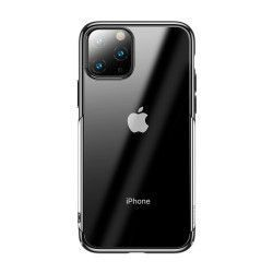 Husa Hard Case Baseus Glitter Electroplating iPhone 11 Pro Negru Transparenta Huse Telefoane