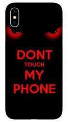 Husa Iphone X Dont touch my phone