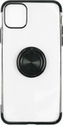 Husa Just Must Silicon Mirror Ring Apple iPhone 11 Pro Black Huse Telefoane