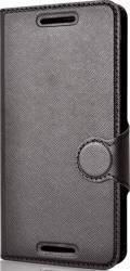 Husa Book Lemontti Jelly HTC Desire 620 Neagra Huse Telefoane