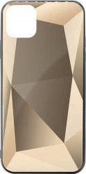 Husa Meleovo Glass Diamond Apple iPhone 11 Pro Max Gray Huse Telefoane
