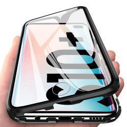 Husa Premium Magneto Glass 360 Grade Upzz Pro Samsung Galaxy S10 Transparent