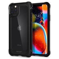 Husa Premium Originala Spigen Gauntlet iPhone 11 Pro Carbon Black Huse Telefoane