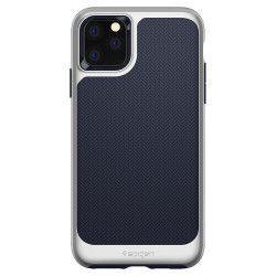 Husa Premium Originala Spigen Neo Hybrid iPhone 11 Pro Max Arctic Silver Huse Telefoane