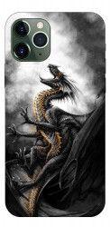 Husa Premium Upzz Print iPhone 11 Pro Max Model Dragon 1 Huse Telefoane
