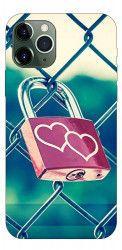 Husa Premium Upzz Print iPhone 11 Pro Max Model Heart Lock Huse Telefoane
