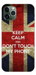 Husa Premium Upzz Print iPhone 11 Pro Max Model Keep Calm Huse Telefoane
