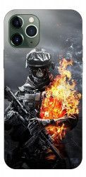 Husa Premium Upzz Print iPhone 11 Pro Model Soldier Huse Telefoane