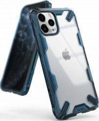 Husa Ringke Fusion X Apple iPhone 11 Pro Max Transparent Albastru Huse Telefoane