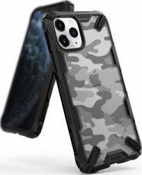 Husa Ringke Fusion X Apple iPhone 11 Pro Negru Camuflaj Huse Telefoane