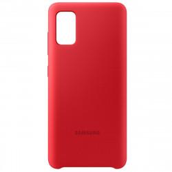 Husa Samsung EF-PA415T Silicone Cover Samsung Galaxy A41  A415F Red