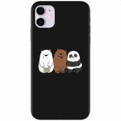 Husa silicon pentru Apple iPhone 11 Bears Huse Telefoane