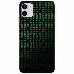 Husa silicon pentru Apple iPhone 11 Binary Code Huse Telefoane