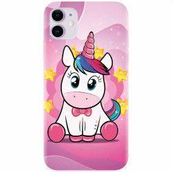Husa silicon pentru Apple iPhone 11 Dream Like A Unicorn Huse Telefoane