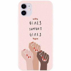 Husa silicon pentru Apple iPhone 11 Girls Supportgirls