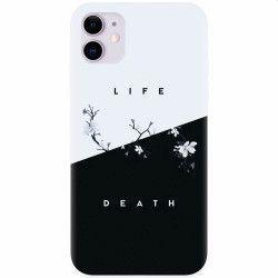 Husa silicon pentru Apple iPhone 11 Life Vs Death Huse Telefoane